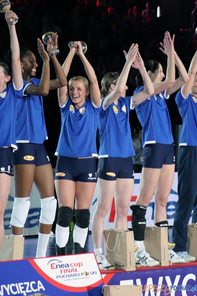 Finał Enea Cup Pucharu Polski Kobiet - wręczenie  Foto: Piotr RychterPiotr Rychter