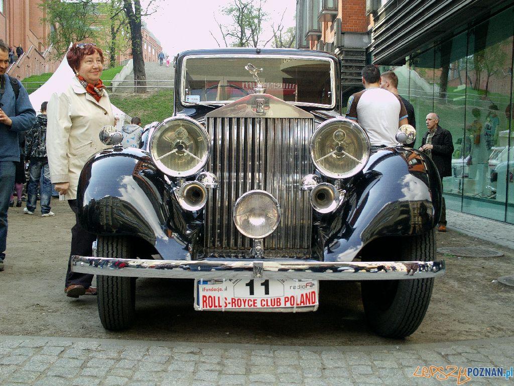 Zlot Rolls Rolls i Bentley Poznan 2010.04.24 r. Foto: Paweł Rychter