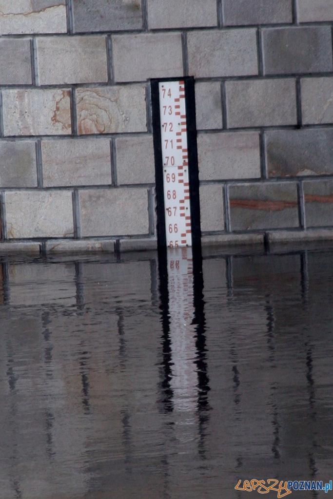 foto: lepszyPOZNAN - fala kulminacyjna - most Rocha  Foto: