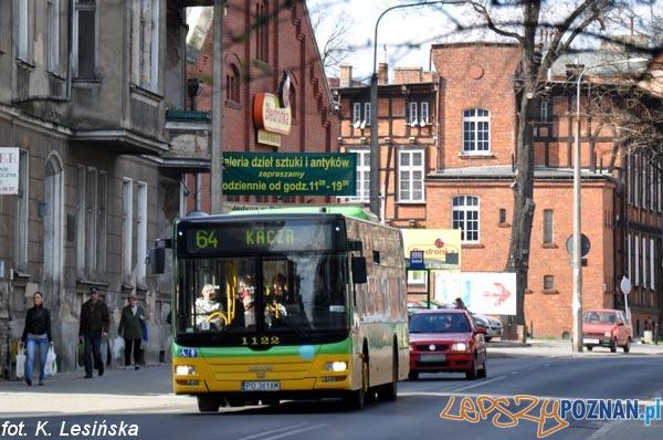 autobus linia 64  Foto: MPK / K. Lesińska