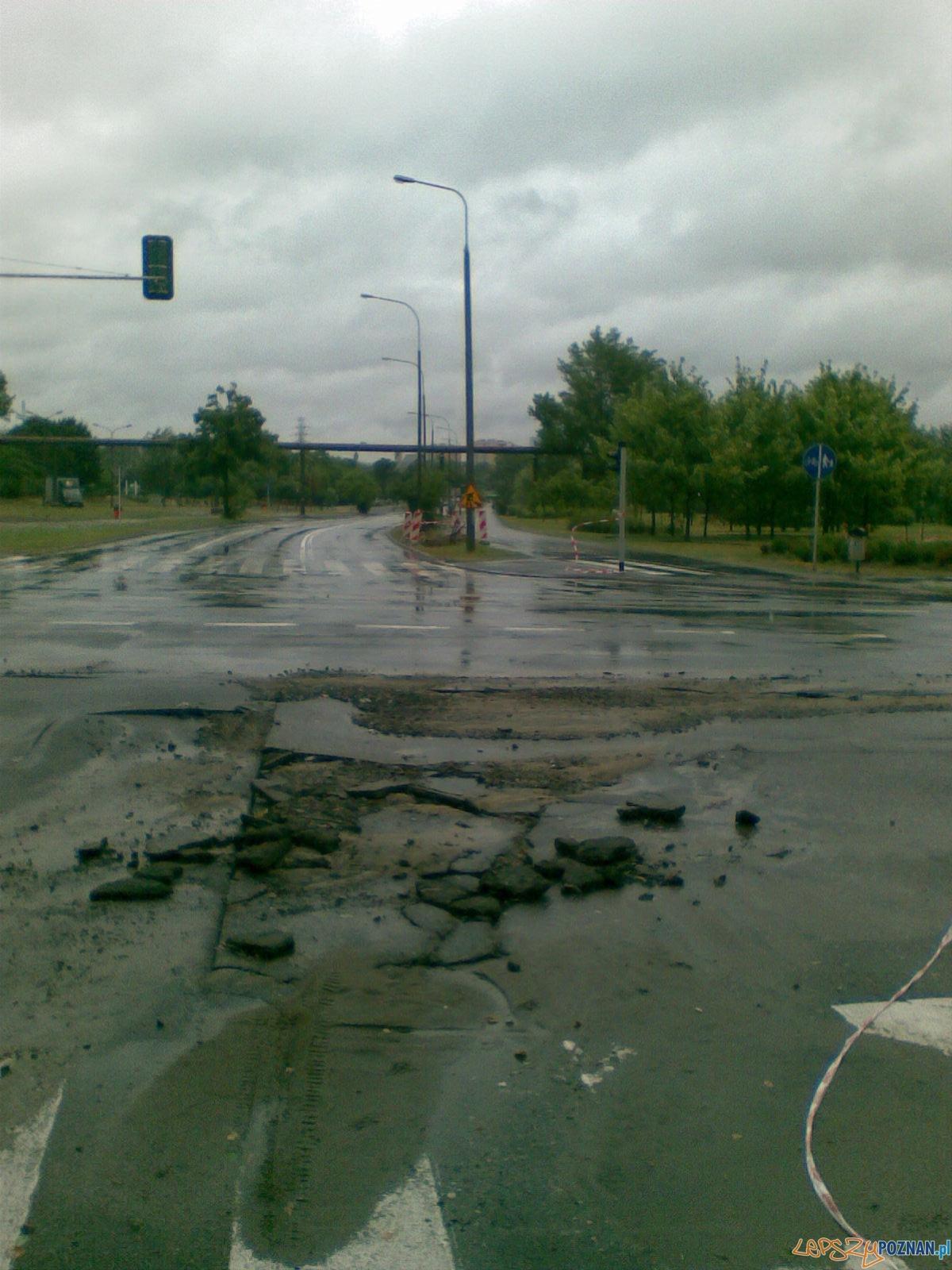skrzyżowanie ulic Dolna Wilda - Żelazka - Św. Jerzego  Foto: Mateusz