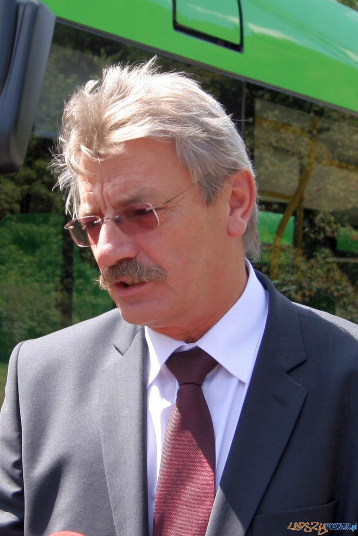 Wojciech Tulibacki, Prezes MPK w Poznaniu  Foto: Paweł Rychter