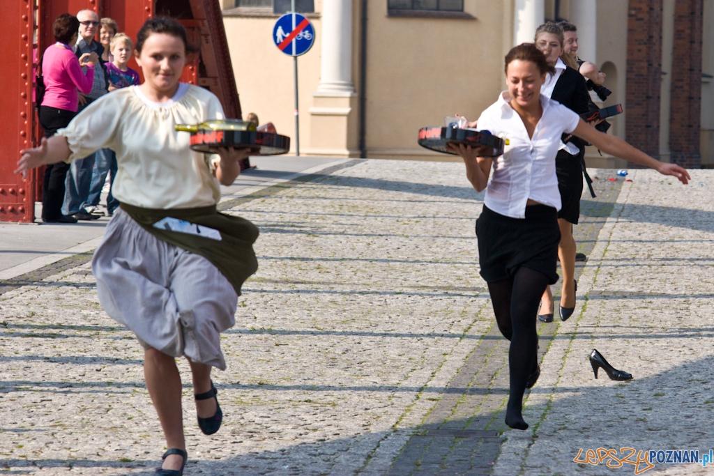 I Poznański Bieg Kelnerów 25.09.2010 r.  Foto: Piotr Rychter