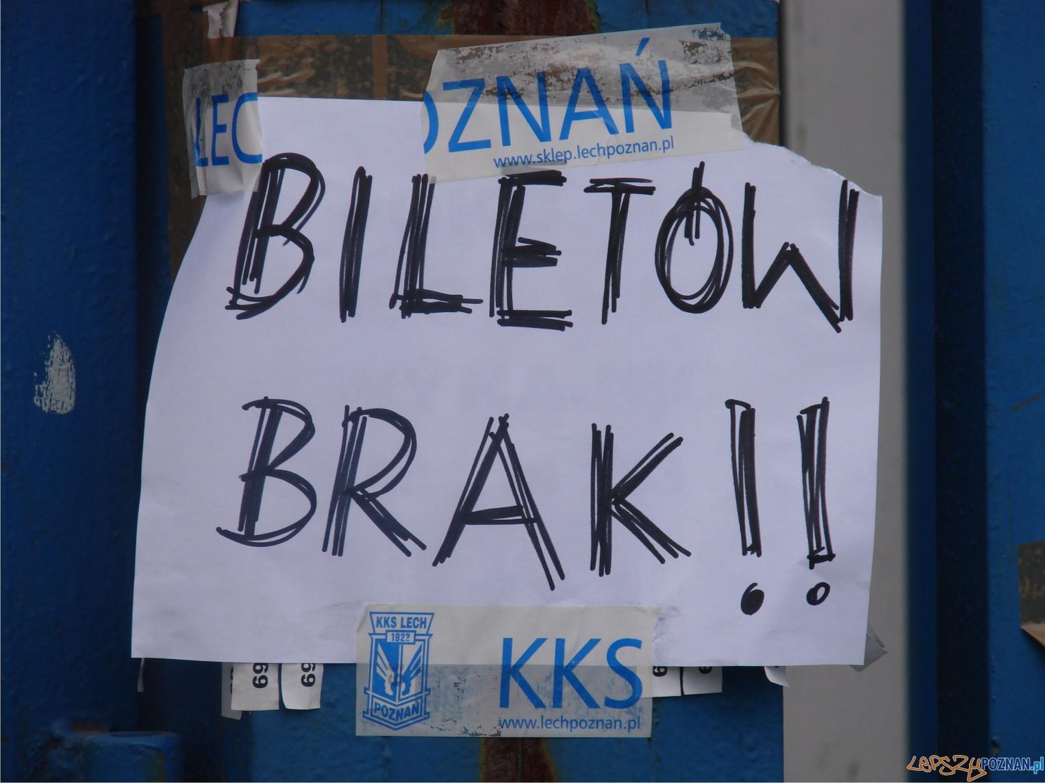 biletów brak  Foto: lepszyPOZNAN.pl / ag