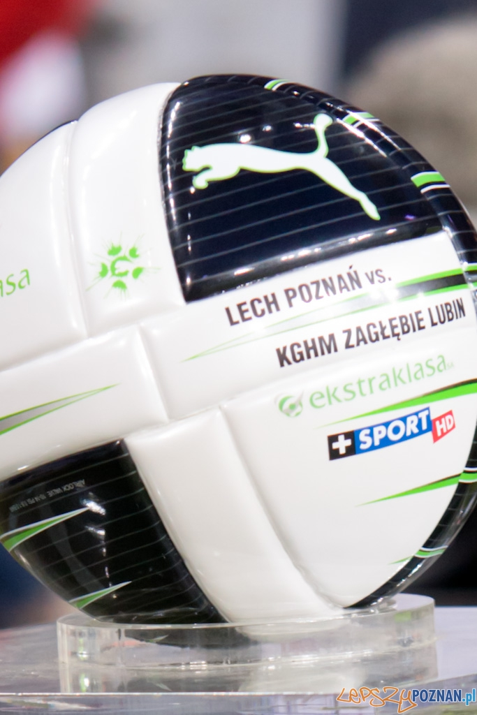 KKS Lech Poznań - KGHM Zagłębie Lubin - 16.10.2010 r.  Foto: Piotr Rychter