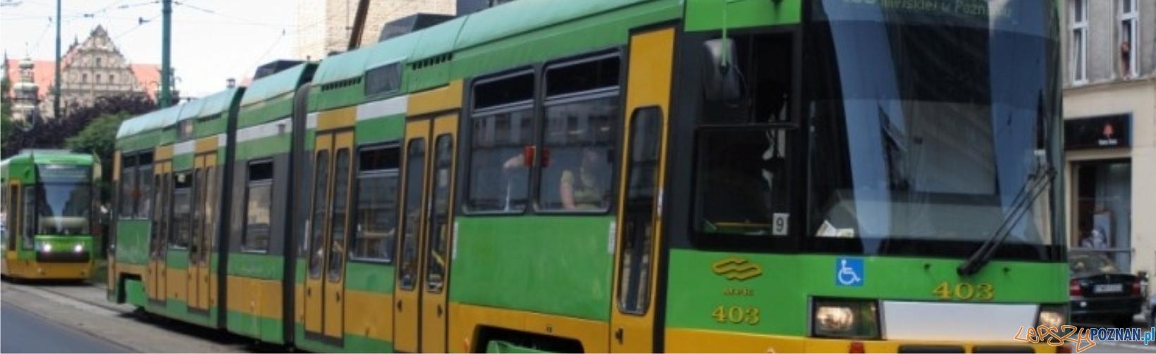 tramwaj panorama  Foto: lepszyPOZNAN