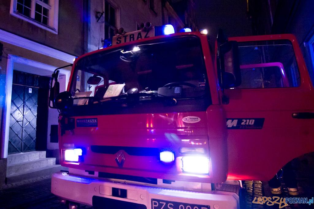 Pożar na Klasztornej  Foto: lepszyPOZNAN.pl / Piotr Rychter