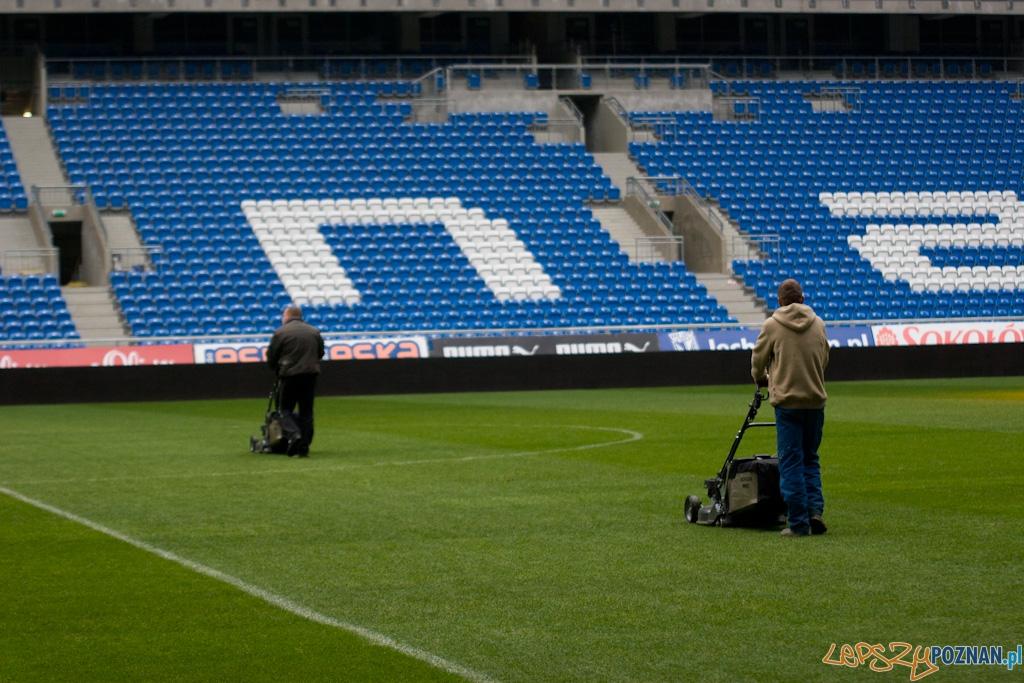 Przygotowania do meczu z Polonia Warszawa  Foto: Piotr Rychter