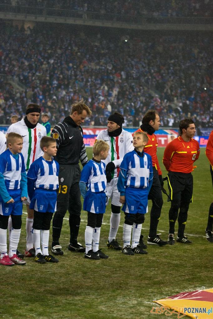 Lech Poznañ - Juventus Turyn 1.12.2010 r.  Foto: Piotr Rychter