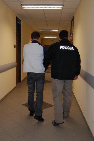 zatrzymany za napady  Foto: KWP w Poznaniu