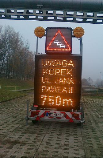 tablica świetlna  Foto: Aquanet