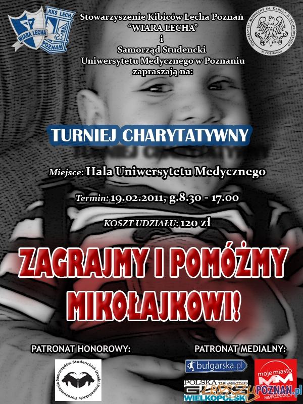 Turniej Charytatywny dla Mikolajka  Foto: materiały organizatorów