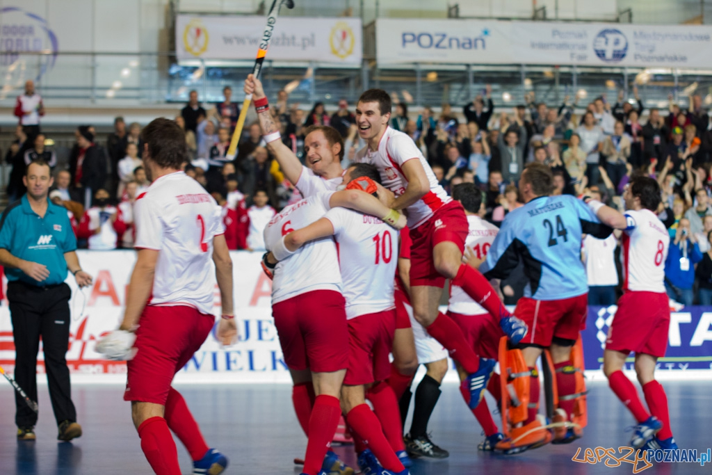 III Halowe Mistrzostwa Świata w Hokeju na Trawie - Polska - Austria  Foto: lepszyPOZNAN.pl / Piotr Rychter
