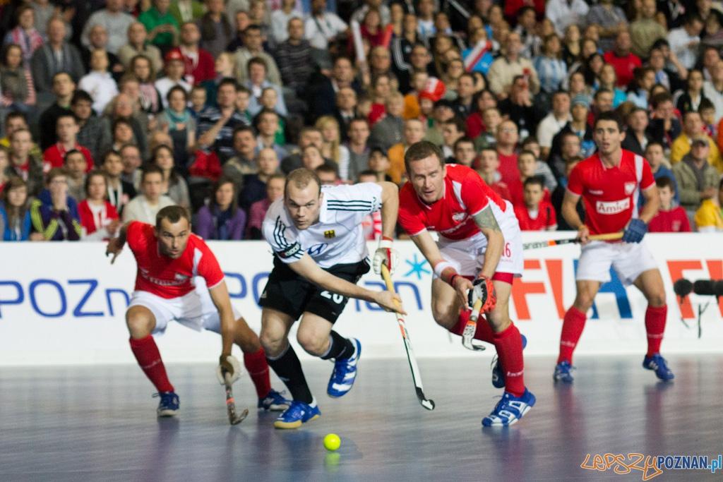 III Halowe Mistrzostwa Świata w Hokeju Na Trawie - Polska - Niemcy  Foto: lepszyPOZNAN.pl / Piotr Rychter