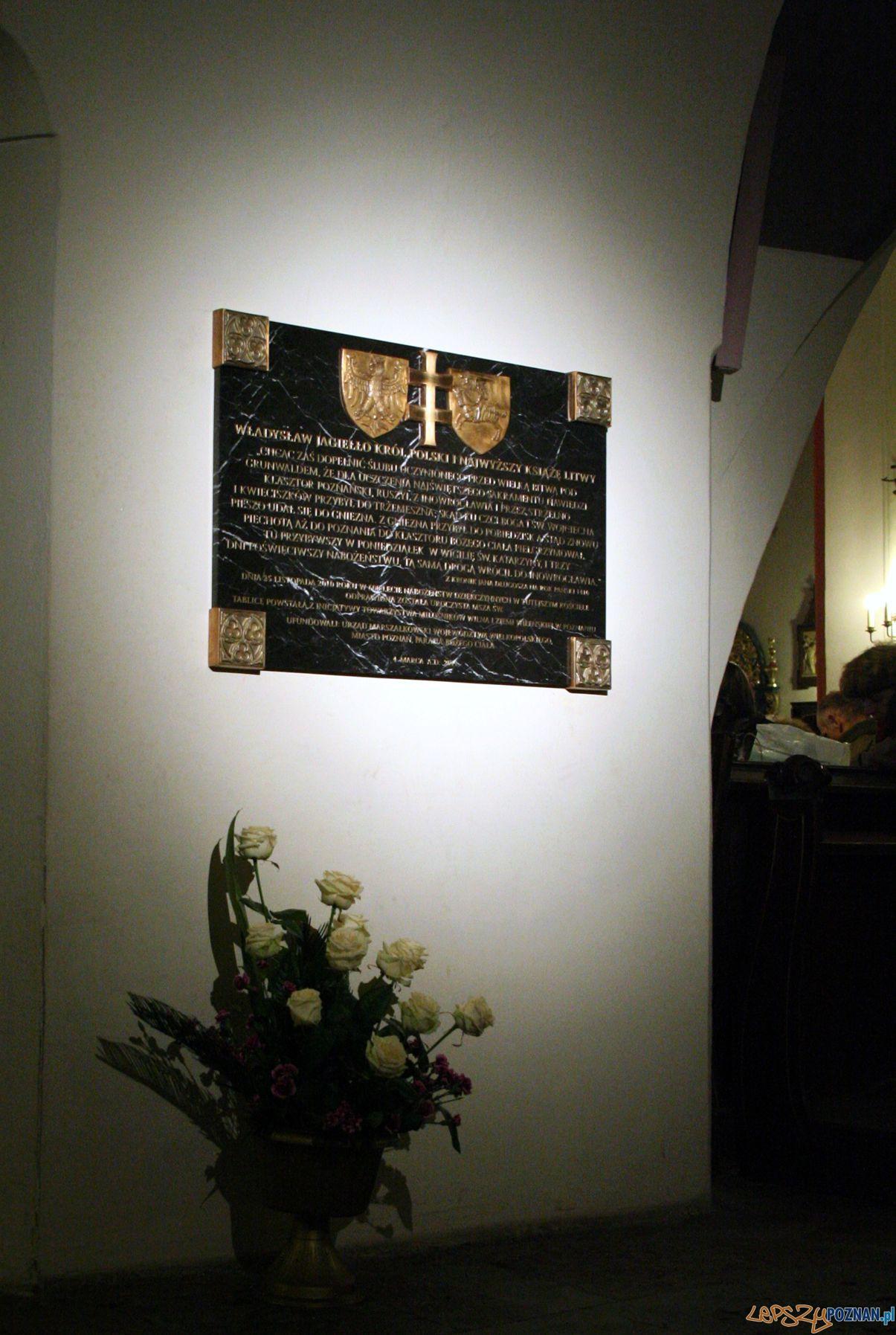 Kaziuk 2011 - odsłonięcie tablicy w kościele  Foto: Krzysztof Styszyński