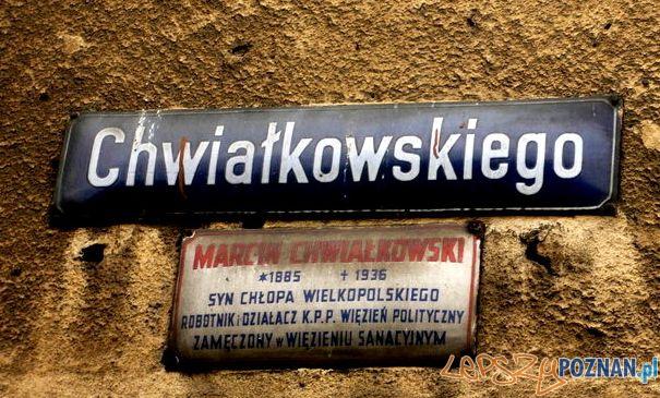 Ulica Chwiałkowskiego  Foto: http://fotopoznan.blogspot.com