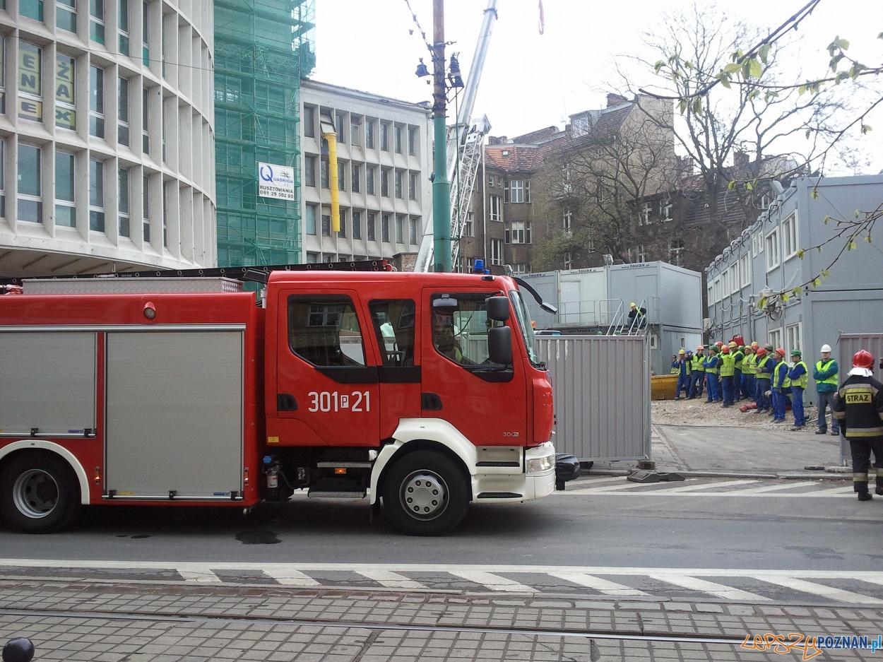 Pożar w Okrąglaku  Foto: lepszyPOZNAN.pl