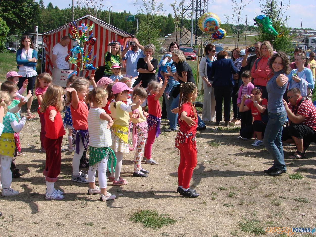 Rodzinny piknik w przedszkolu Antoninkowych Skrzatów  Foto: lepszyPOZNAN.pl / ag