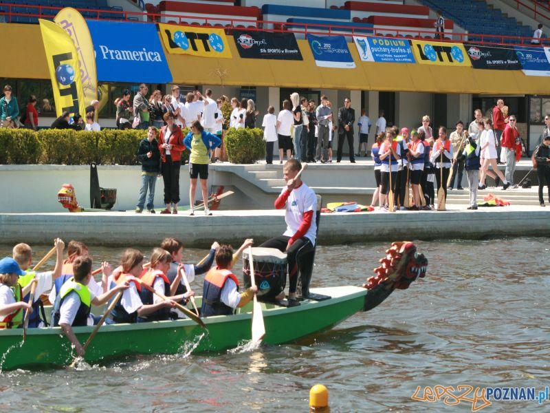 Mistrzostwa młodziezy - smocze łodzie  Foto: Marta Sojkin, Poznańskie Dragony
