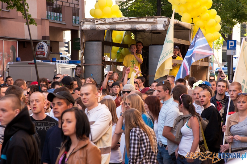 Marsz Wyzwolenia Konopi - Poznań 07.05.2011 r.  Foto: LepszyPOZNAN.pl / Paweł Rychter