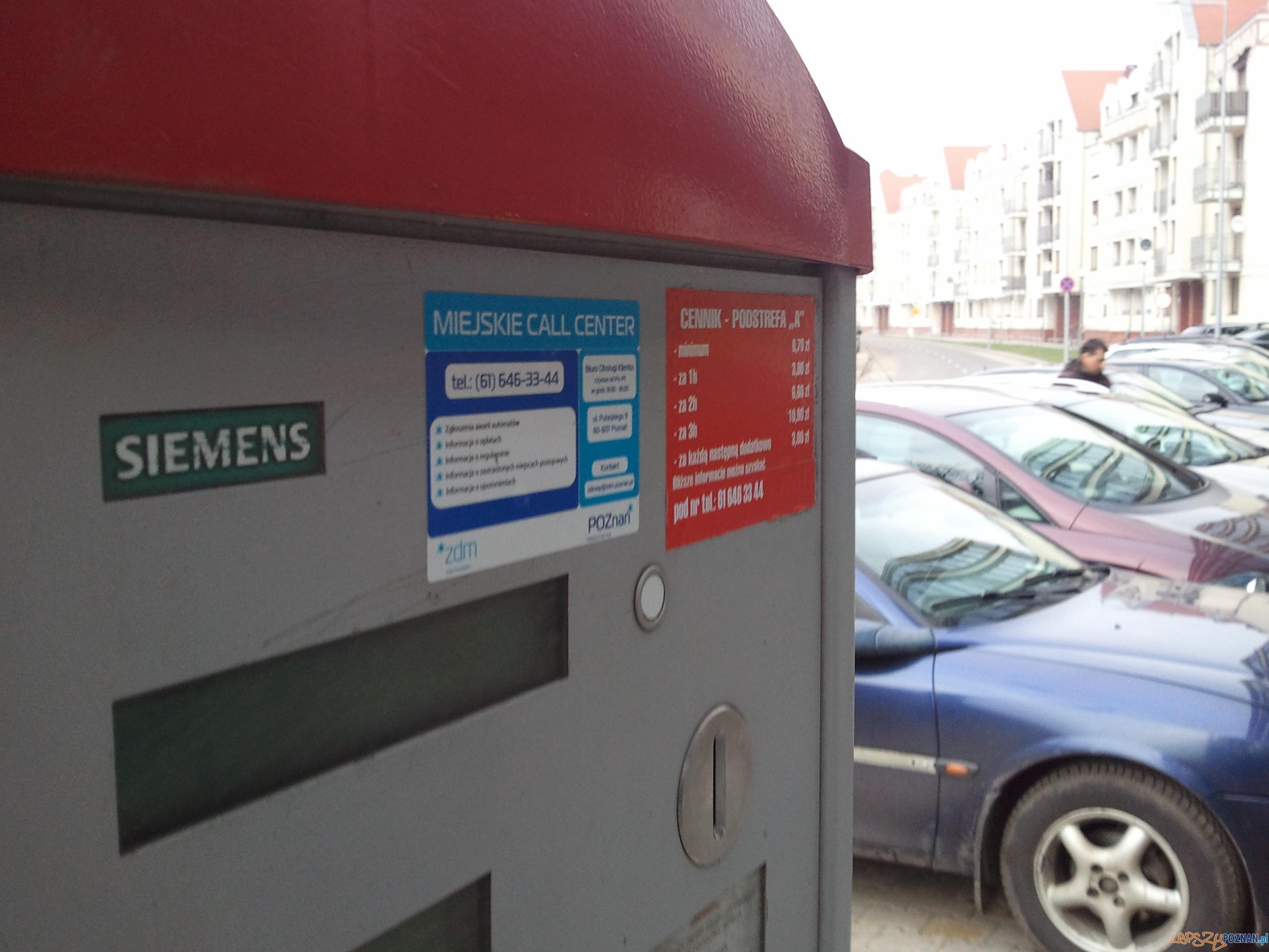 Parkomat  Foto: lepszyPOZNAN.pl / gsm