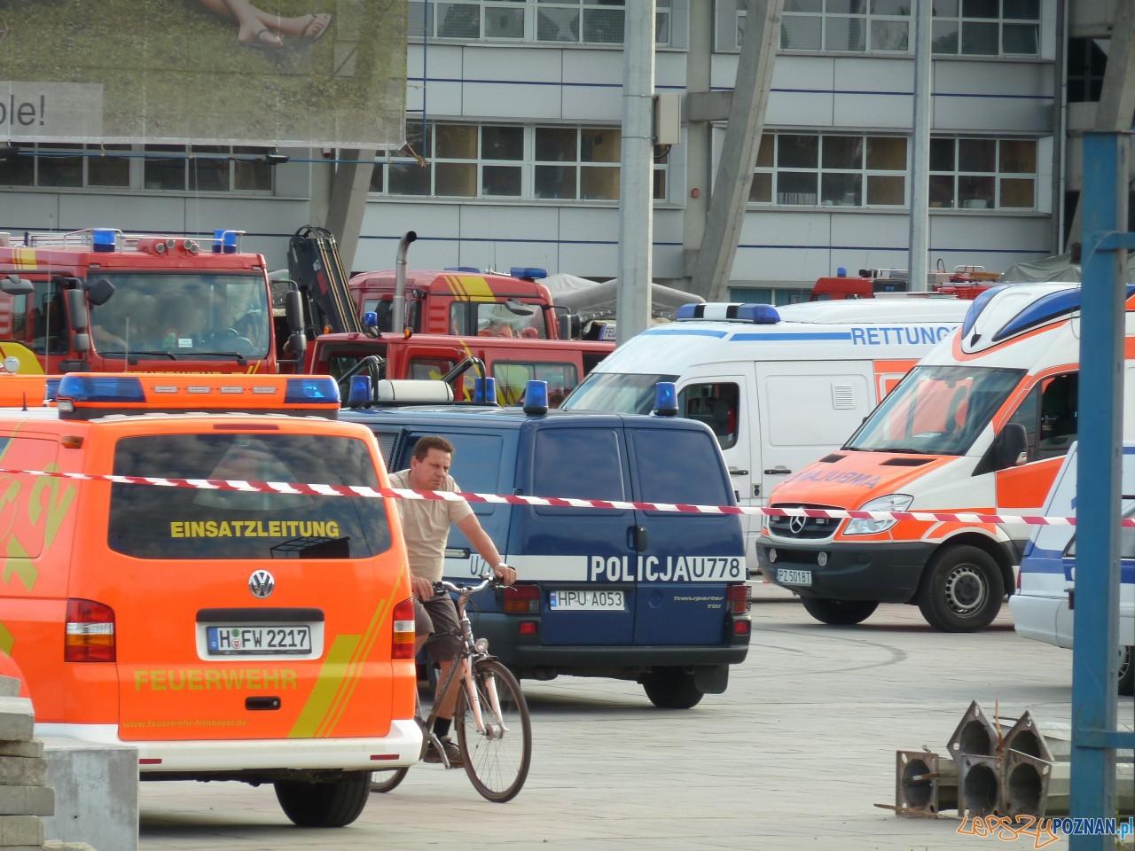 Ćwiczenia na Stadionie Miejskim  Foto: Maciej Koterba