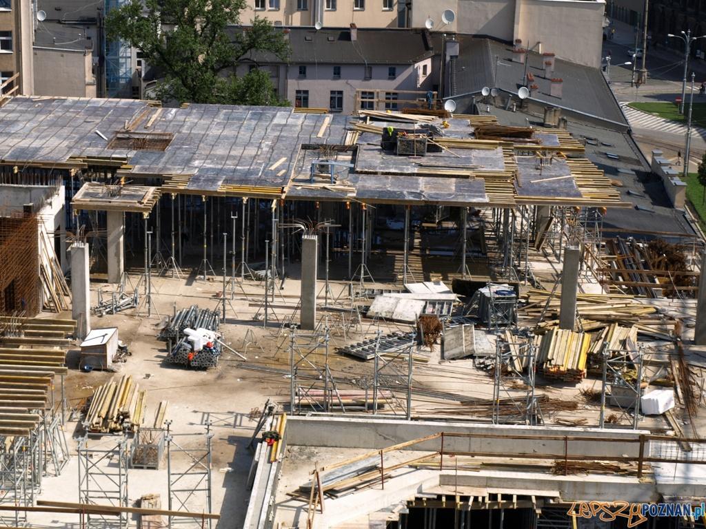 Teren budowy Galerii MM  Foto: Carte