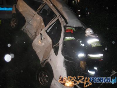 Śmiertelny wypadek we Wrześni  Foto: KP PSP we Wrześni