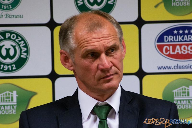 Trener Warty Poznań - Czesław Jakołcewicz  Foto: LepszyPOZNAN.pl / Paweł Rychter