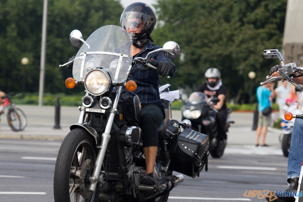 IV Parada Motocyklowa Solidarności  Foto: lepszyPOZNAN.pl / Piotr Rychter