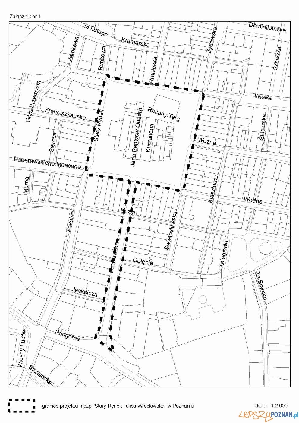 Plan Zagospodarowania Wrocławska - Stary Rynek   Foto: Urząd Miasta