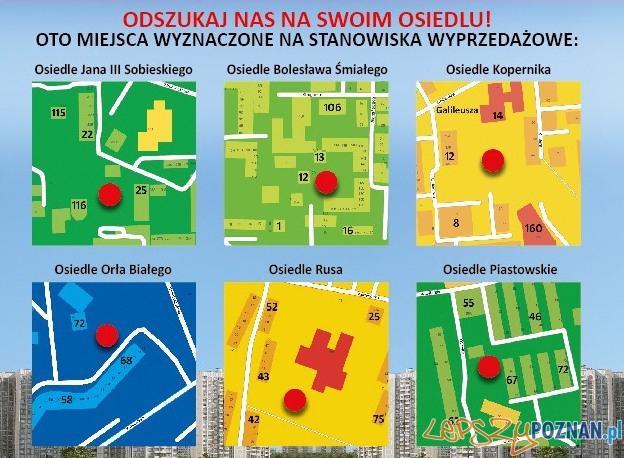 Osiedlowa Wyprzedaż Garażowa - mapa lokalizacji  Foto:
