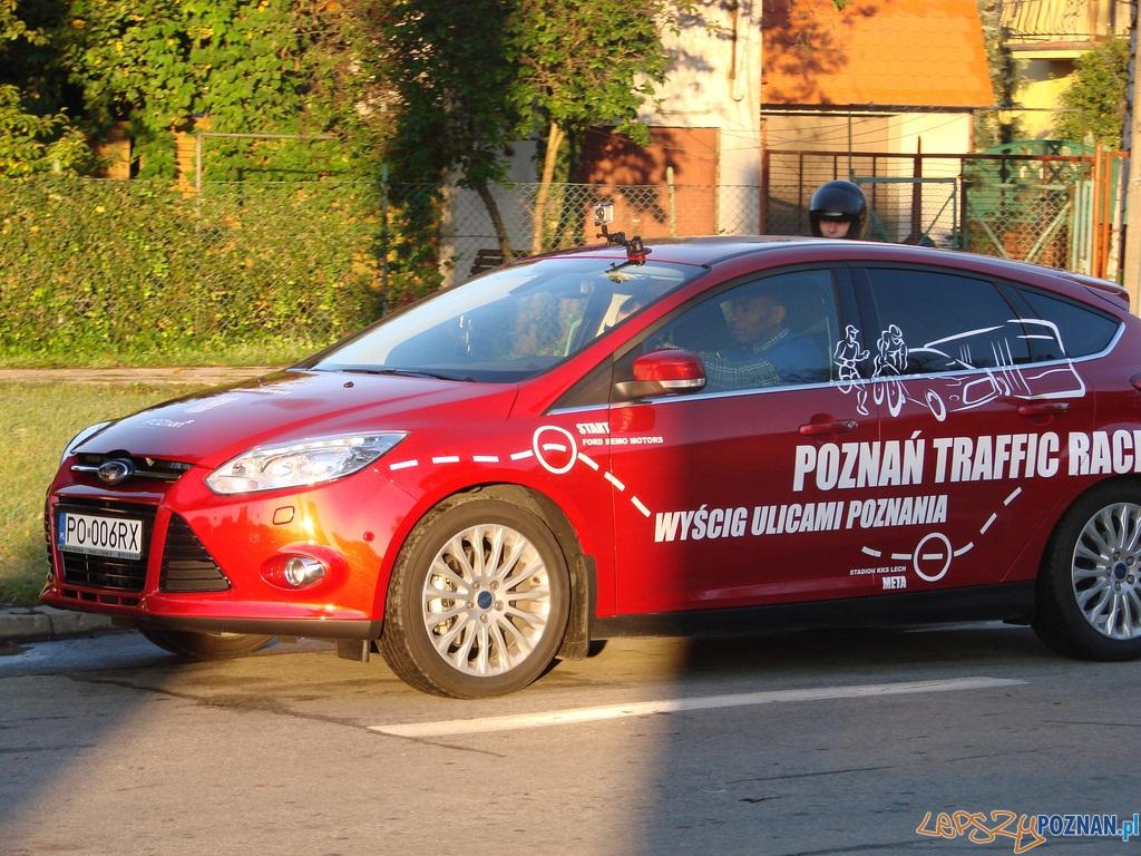 Na linii startu Poznań Traffic Race  Foto: lepszyPOZNAN.pl / ag