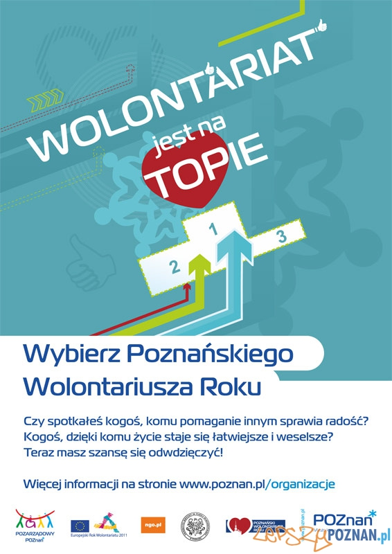 Poznański Wolontariusz Roku 2011  Foto: