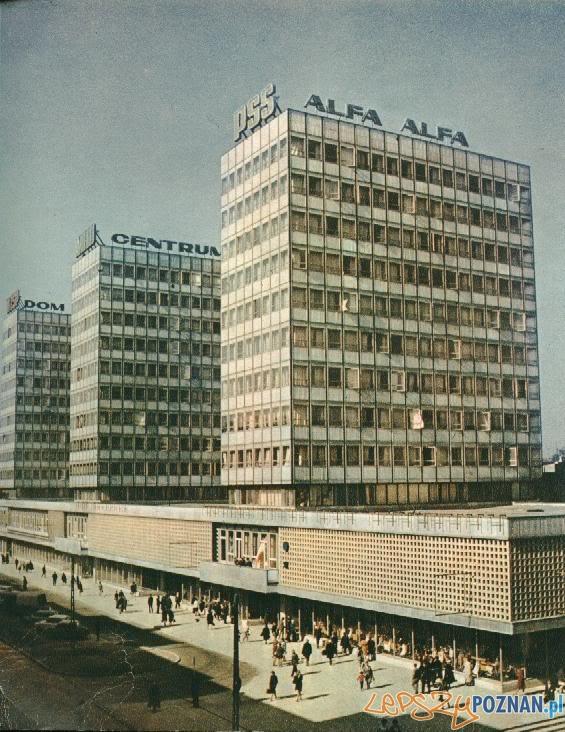 Alfa - wieżowce przy Św. Marcinie  Foto: