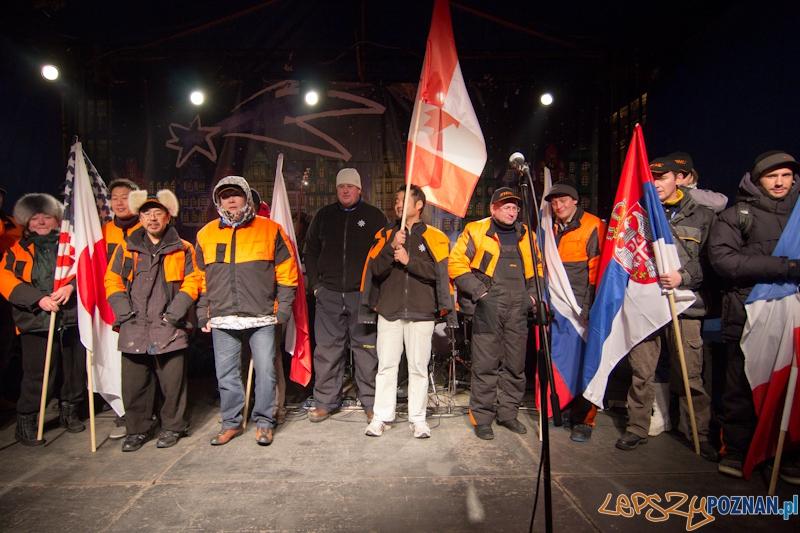 Festiwal Rzeźby Lodowej - wręczenie nagród - 11.12.2011 r.  Foto: lepszyPOZNAN.pl / Piotr Rychter