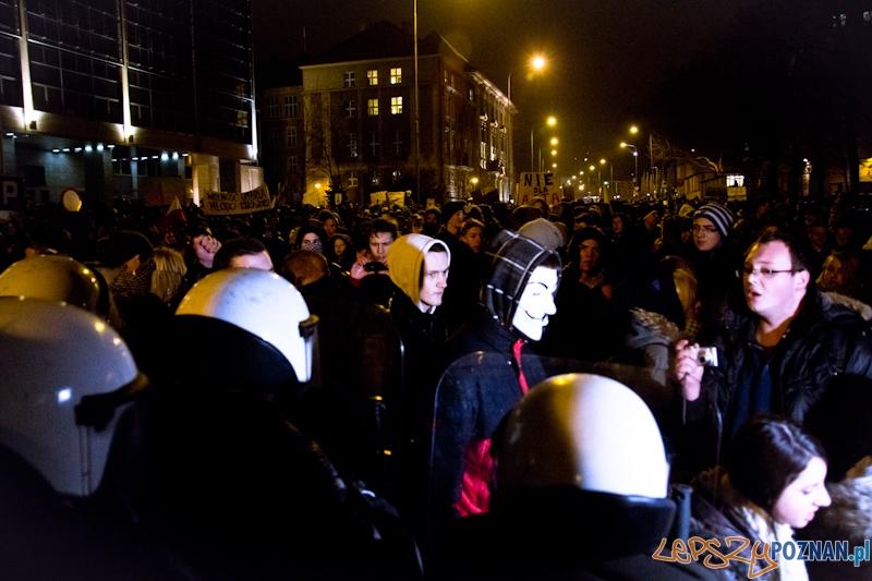 Protest przeciwko ACTA - 26.01.2012 r.  Foto: lepszyPOZNAN.pl / Piotr Rychter