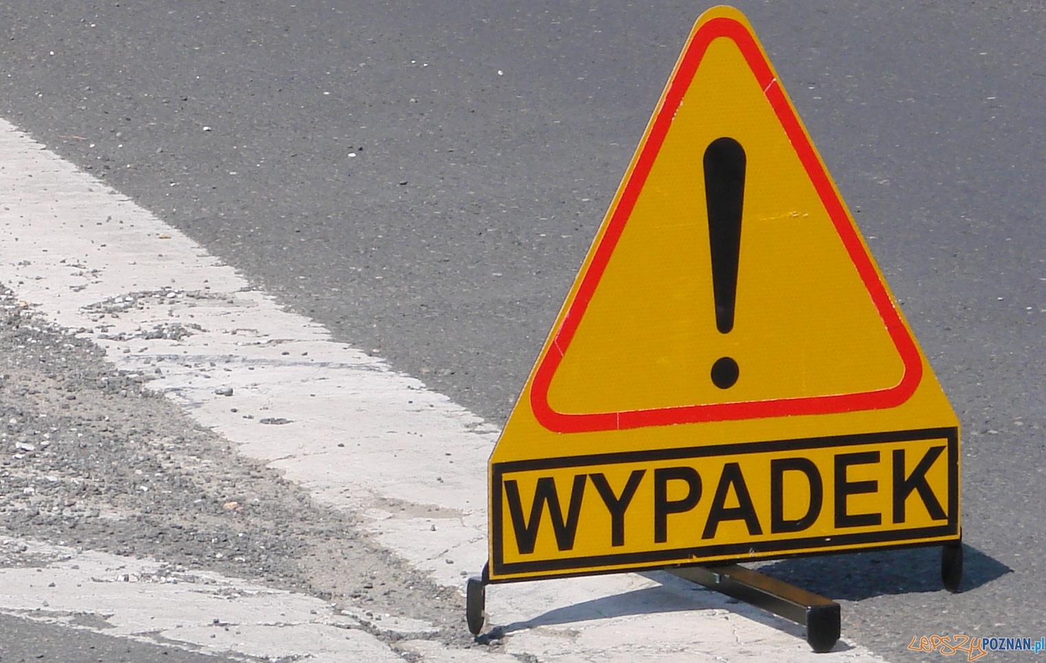 Wypadek!  Foto: lepszyPOZNAN.pl / ag