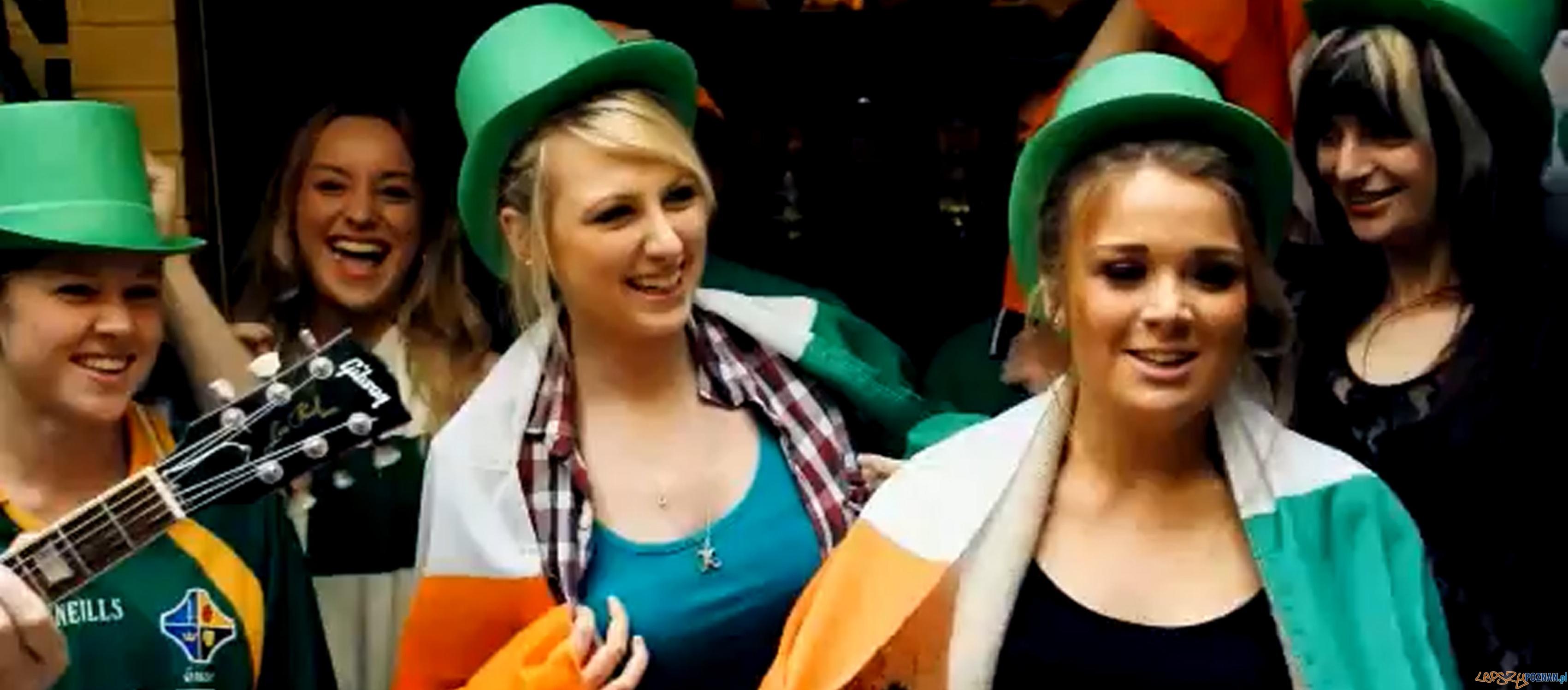 Kibice z Irlandii  Foto: Kibice z Irlandii