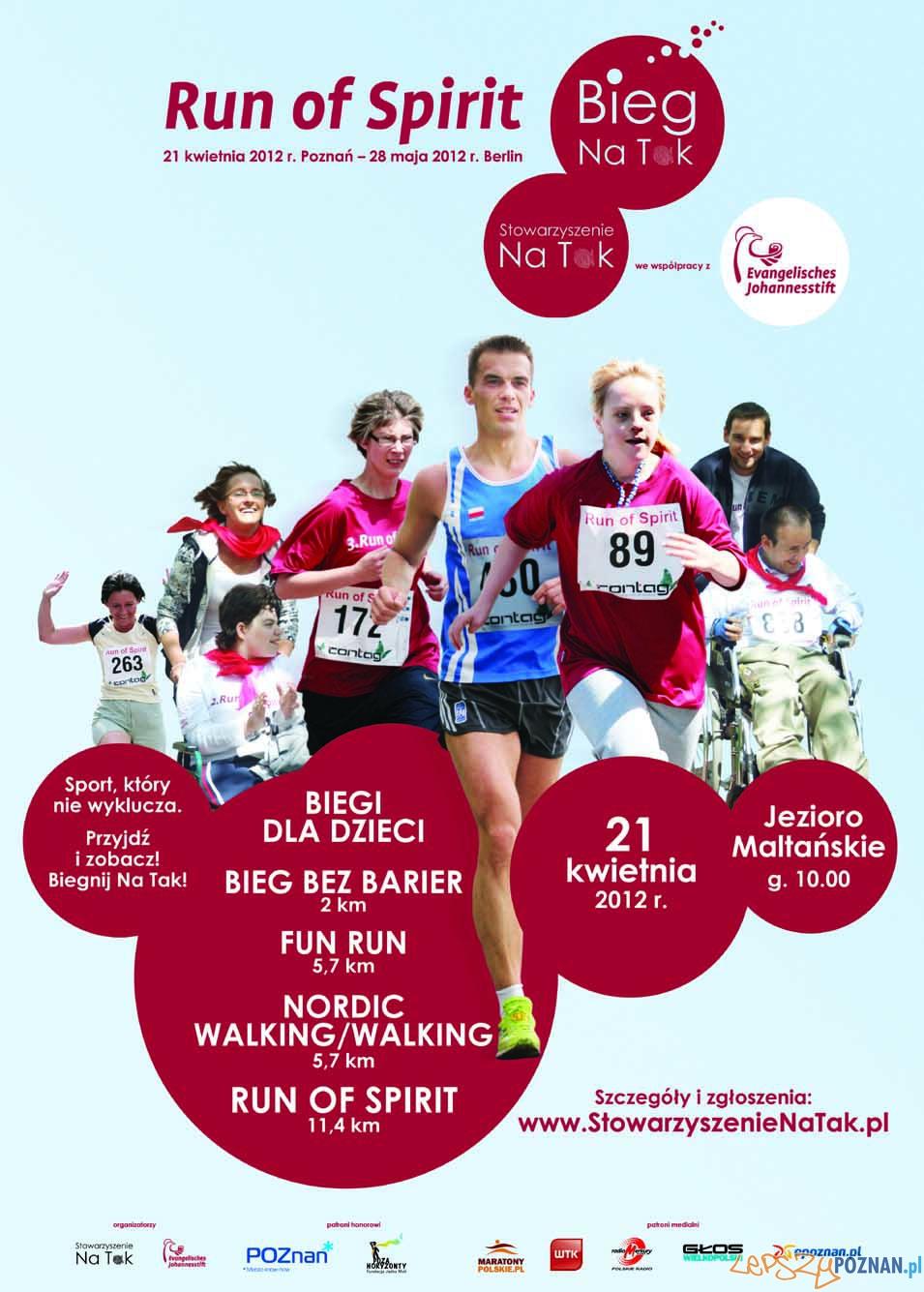 Run of Spirit – Bieg Na Tak!  Foto: Stowarzyszenie Na Tak
