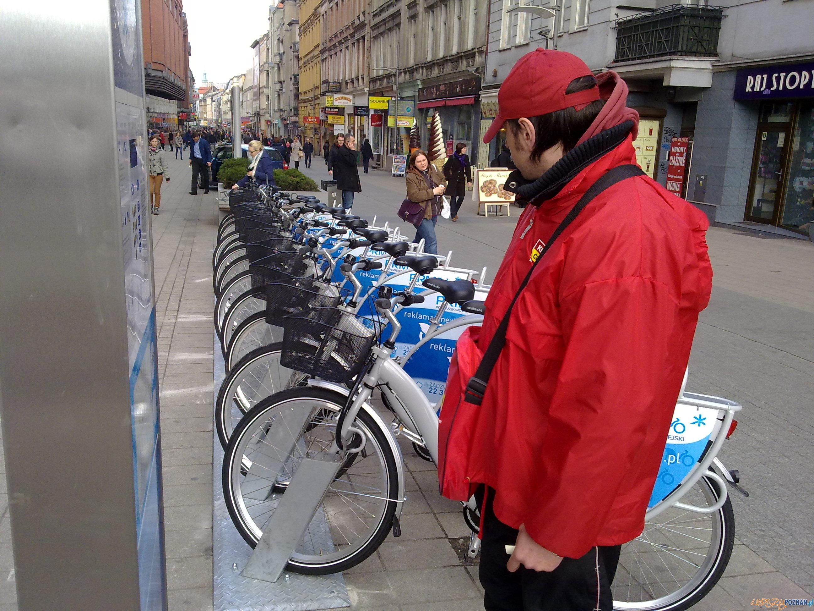 Hop i na rower  Foto: