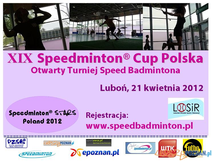 XIX Speedminton Cup Luboń 2012  Foto: www.speedbadminton.pl