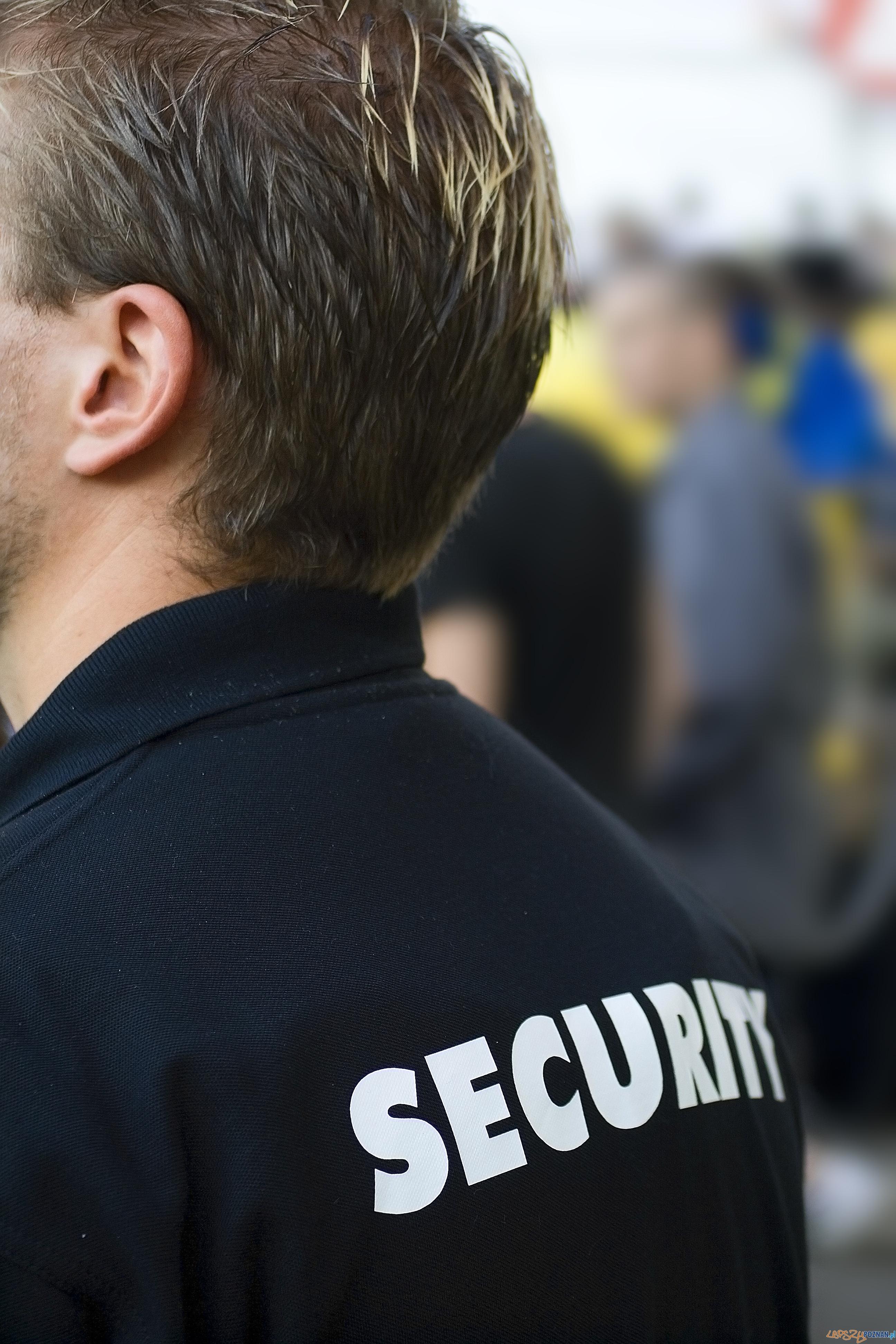 ochroniarz  Foto: sxc