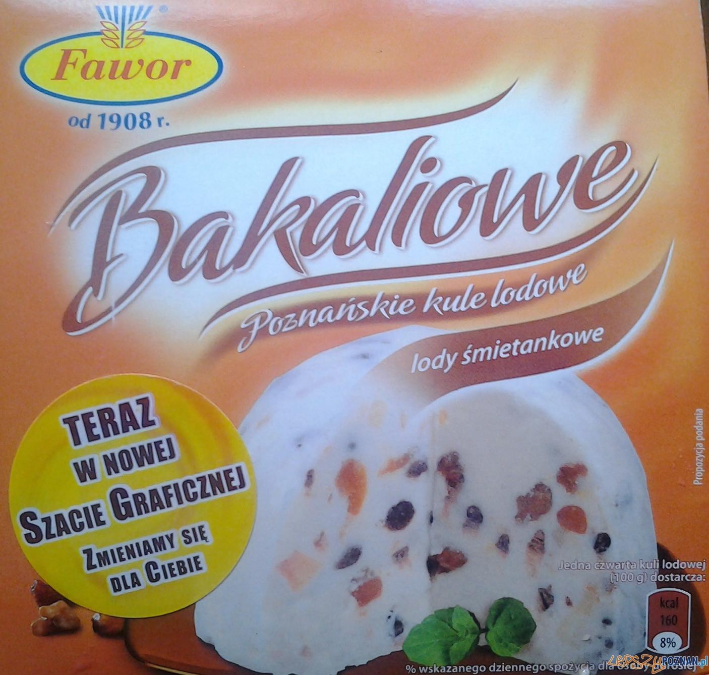 Lody z Fawora w nowym opakowaniu  Foto: lepszyPOZNAN.pl