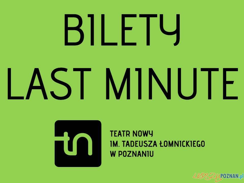 Bilet Last Minute  Foto: Teatr Nowy