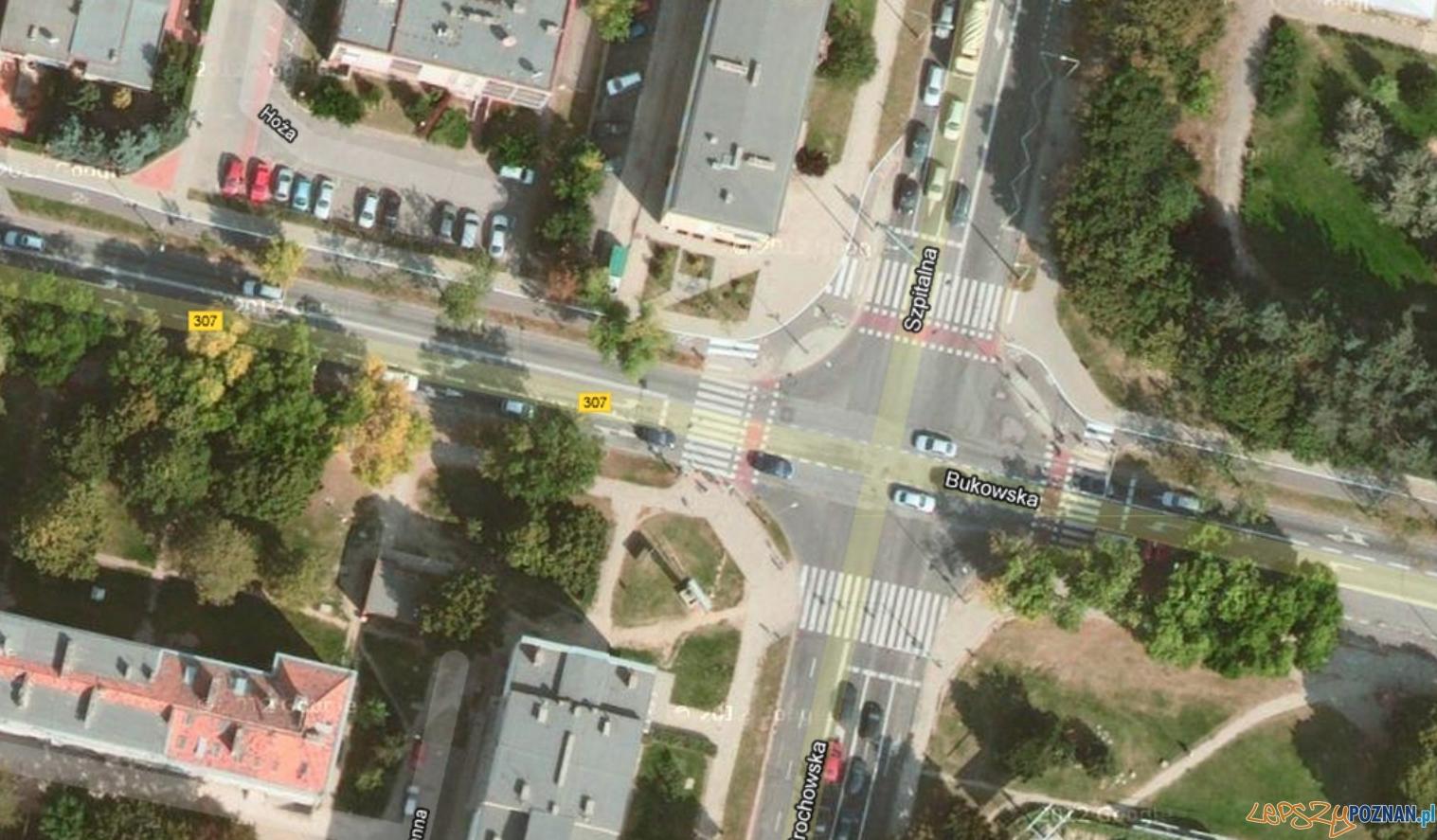 Skrzyżowanie już przejezdne  Foto: Google maps