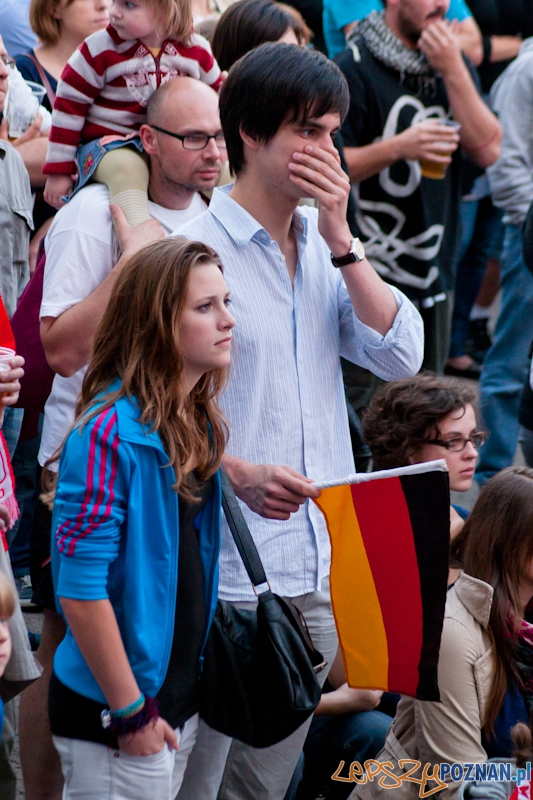 Strefa Kibica podczas meczu Niemcy - Włochy  - Poznań 28.06.2012 r.  Foto: LepszyPOZNAN.pl / Paweł Rychter