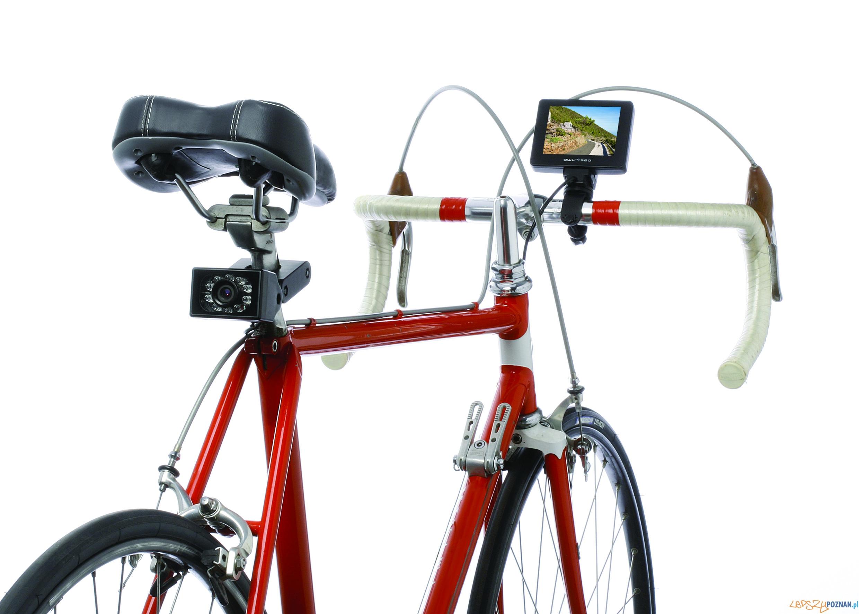 Kamera wsteczna dla roweru  Foto: Hammacher Schlemmer