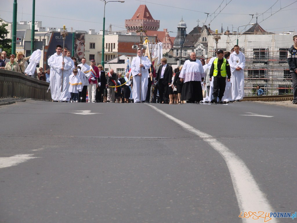 uroczystość Najświętszego Ciała i Krwi Chrystusa, zwane potocznie Bożym Ciałem  Foto: lepszyPOZNAN.pl / ag