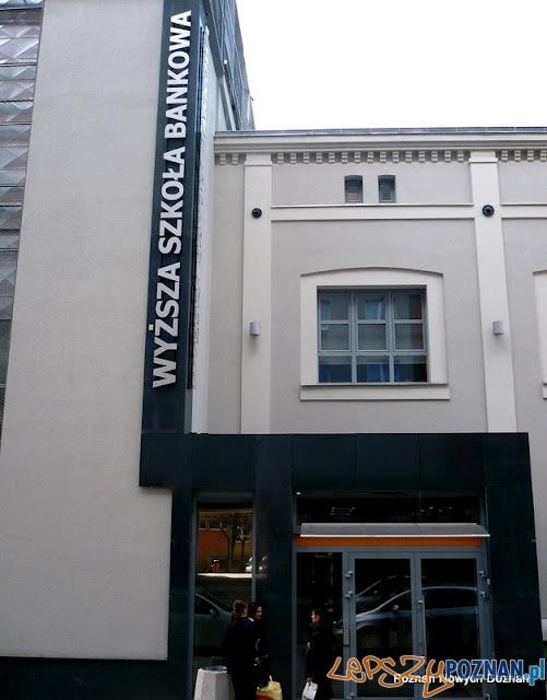 Nowy budynek WSB w Poznaniu  Foto: http://fotopoznan.blogspot.com